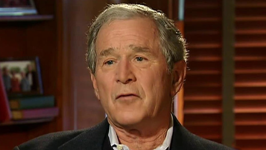 George W. Bush on gentle soul dad and future president Jeb?