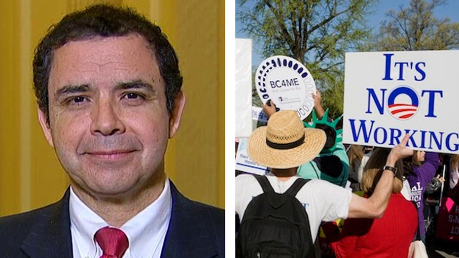 Rep. Cuellar discusses controversy over executive action