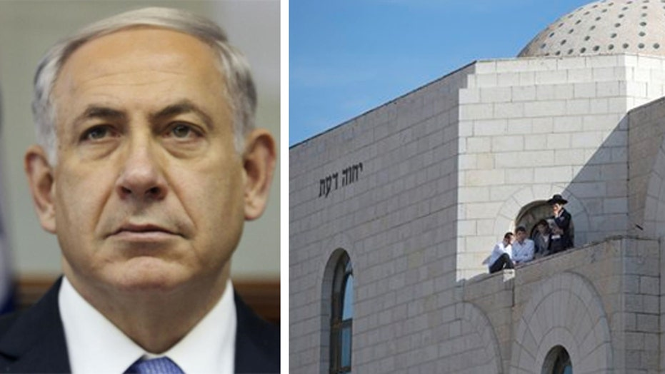 Netanyahu promises harsh response to synagogue attack