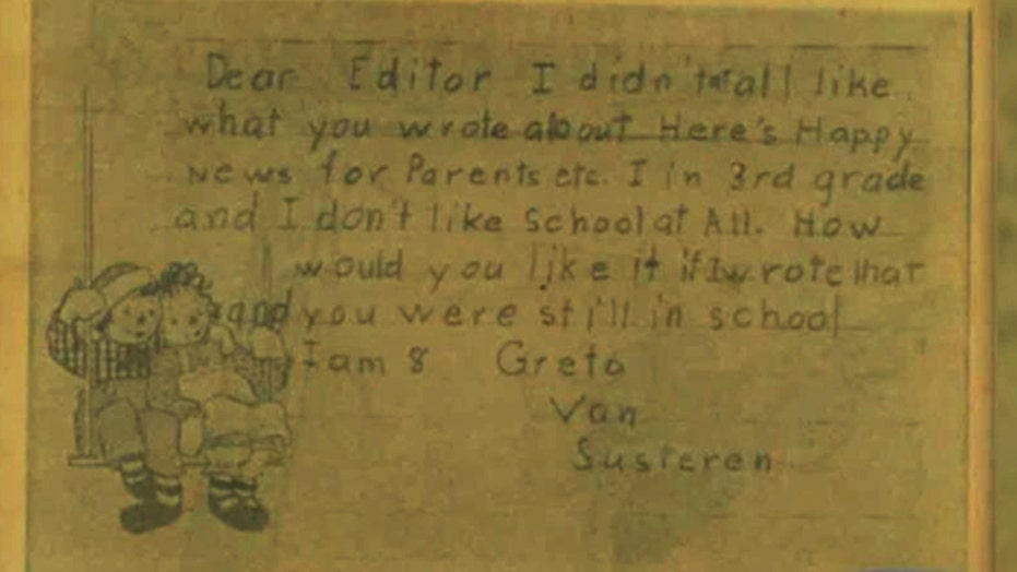 Greta: Speaking out since 3rd grade - and not always right