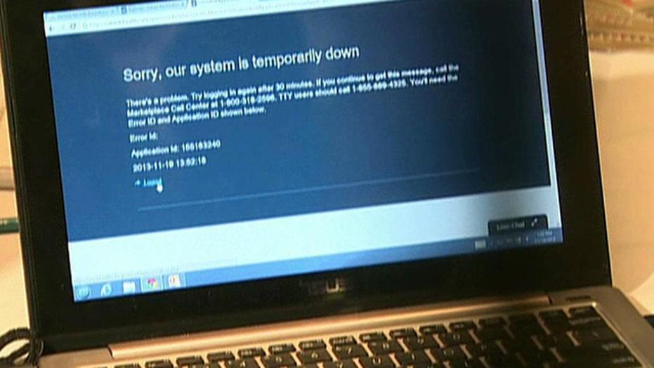 ObamaCare website crashes during Secretary Sebelius event