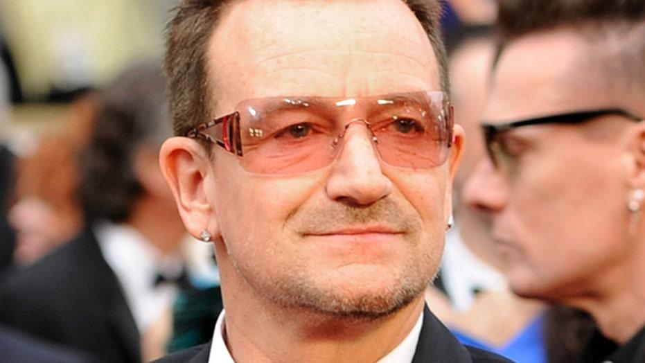 Bono has facial fracture