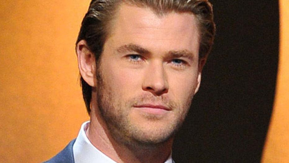 Chris Hemsworth named People's 'Sexiest Man Alive'