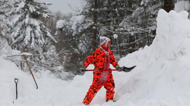 David Lee Miller reports on winter storm