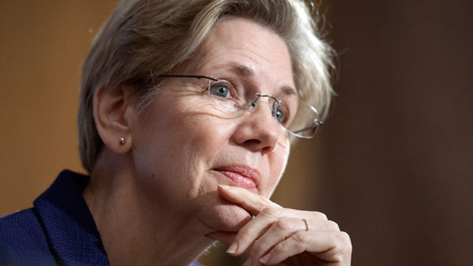 Elizabeth Warren emerging as face of the left