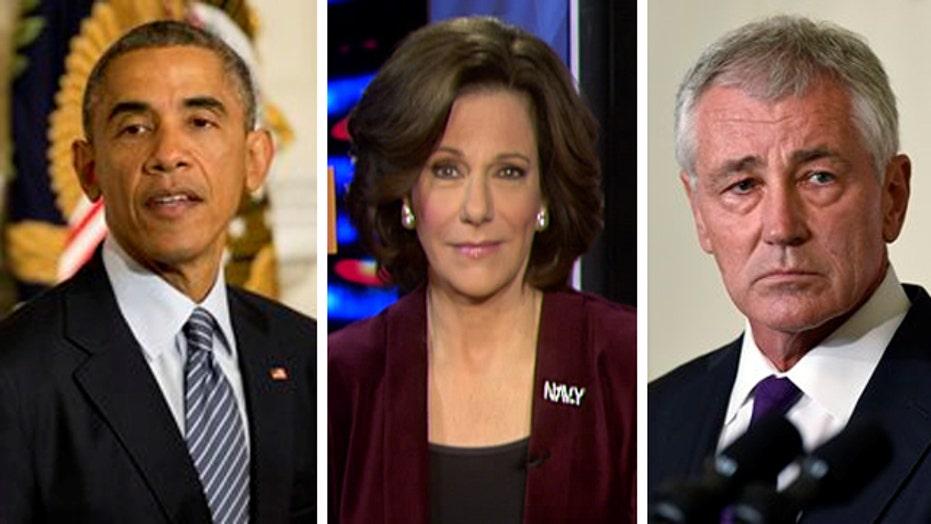 KT McFarland: Obama needs tough talking defense secretary