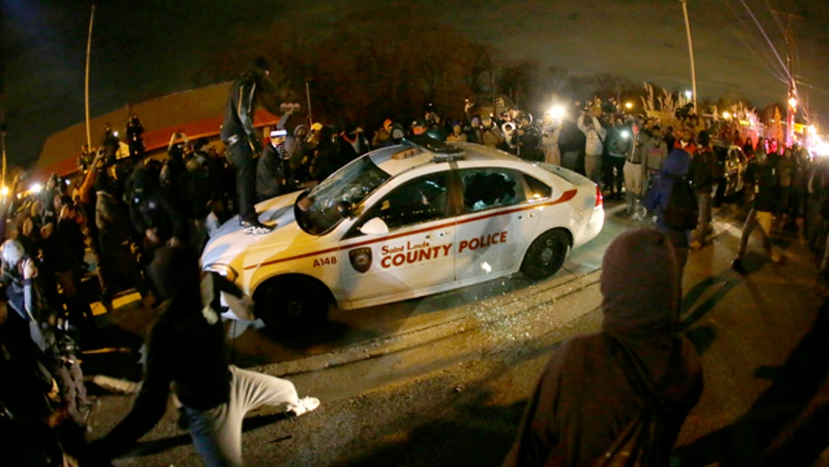 Media to blame for violence in Ferguson?