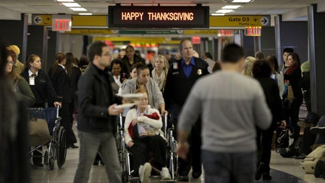 Jonathan Hunt reports from LaGuardia Airport
