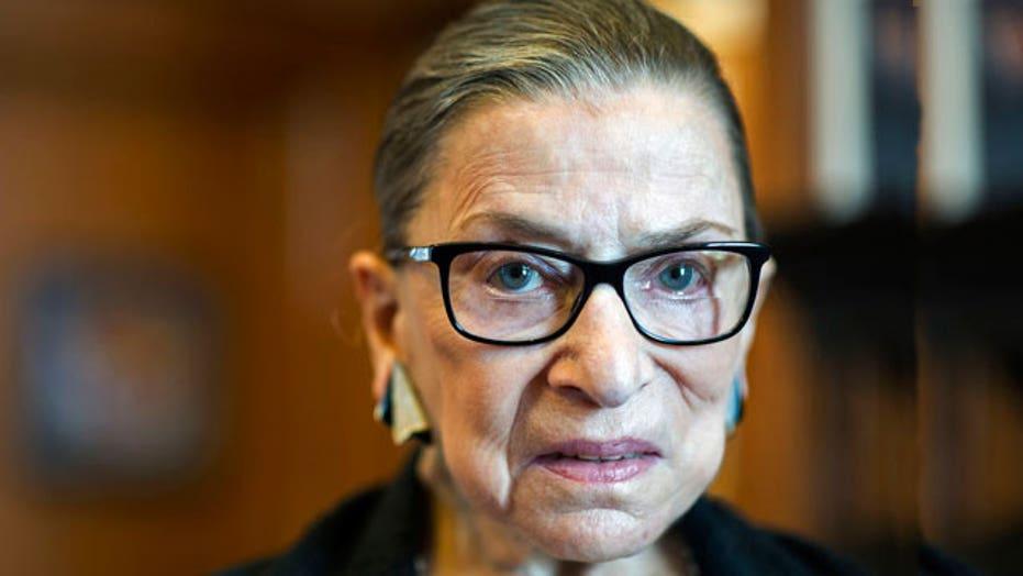 Ruth Bader Ginsburg has heart surgery