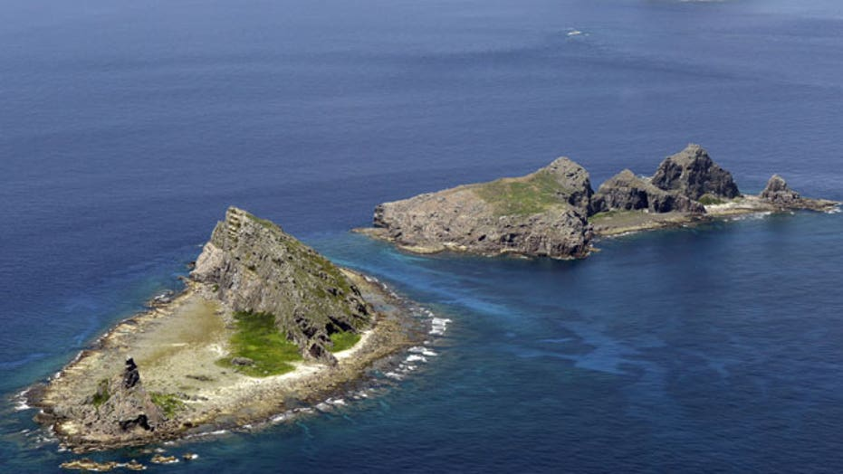 China asserts air rights over Senkaku Islands