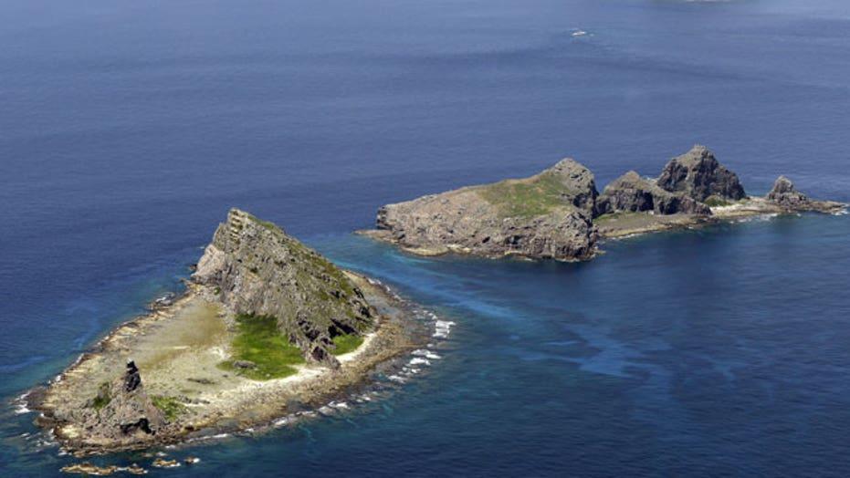 China asserts air rights over Senkaku Islands