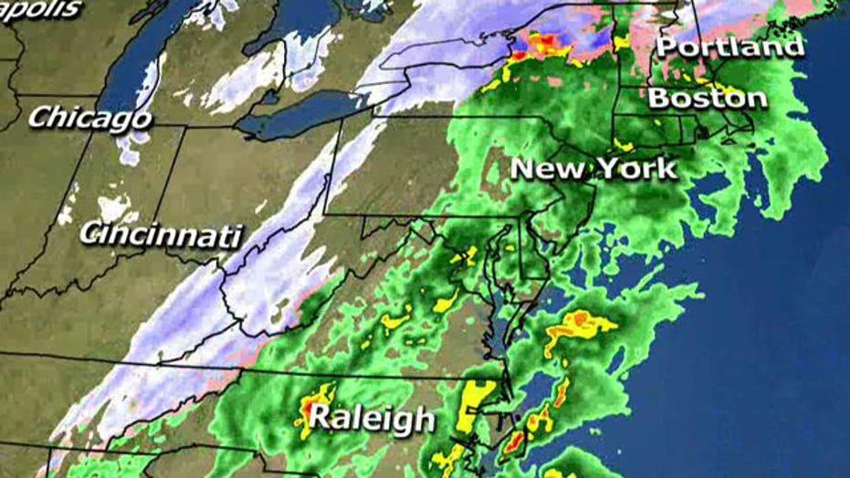 Storm slams Northeast