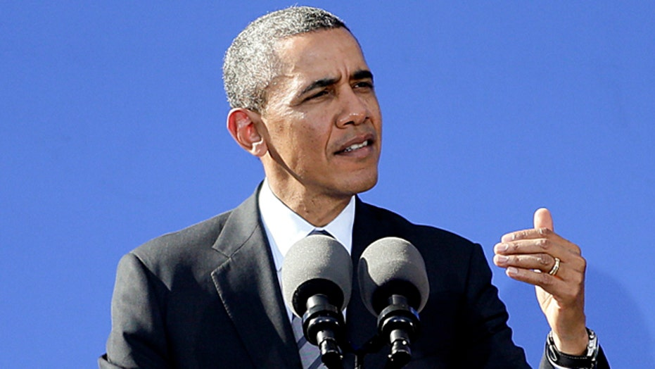 President defends ObamaCare, lashes out against Republicans