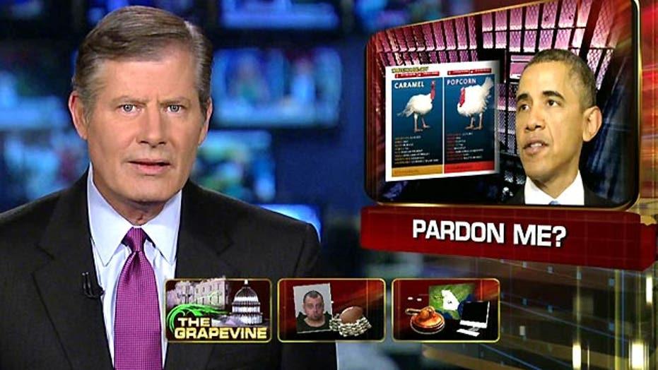 Grapevine: Obama pardons for turkeys vs. drug offenders
