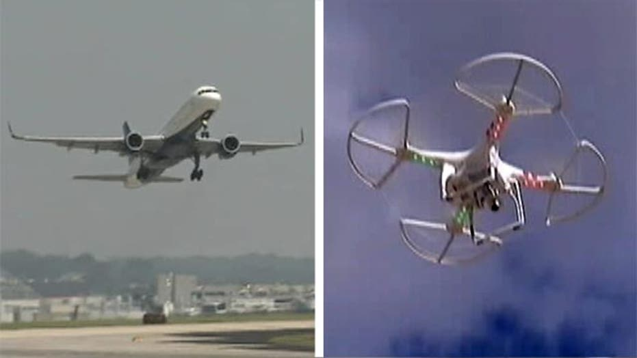 FAA: Surge in near-collisions between planes and drones