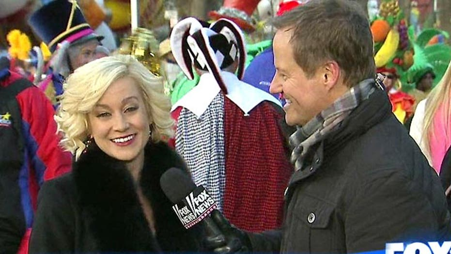 Kellie Pickler at the 87th Macy's Thanksgiving Day Parade