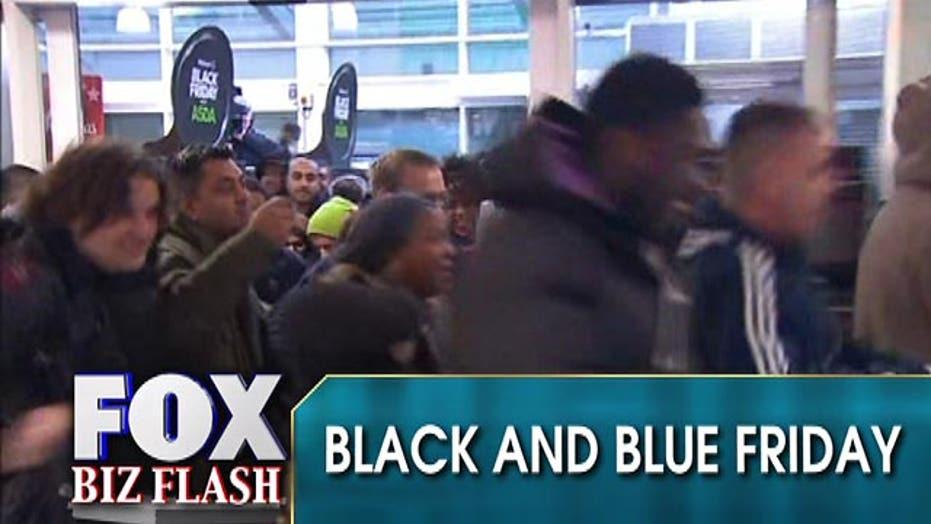 Black Friday turning into 'Black and Blue' Friday