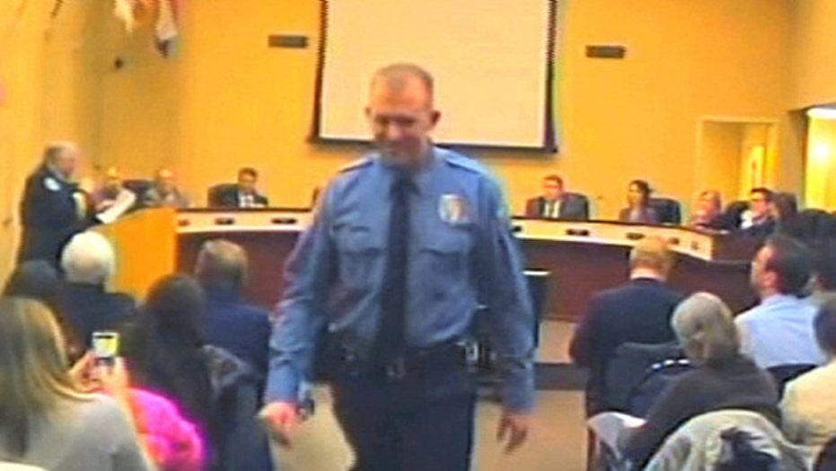 AP: Ferguson police officer Darren Wilson resigns