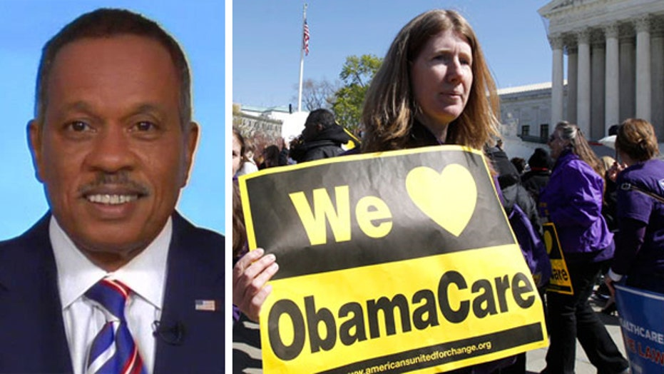 Juan Williams: Americans should be 'thankful for ObamaCare'