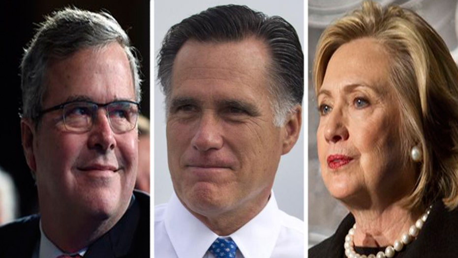 Top contenders for the 2016 presidential race