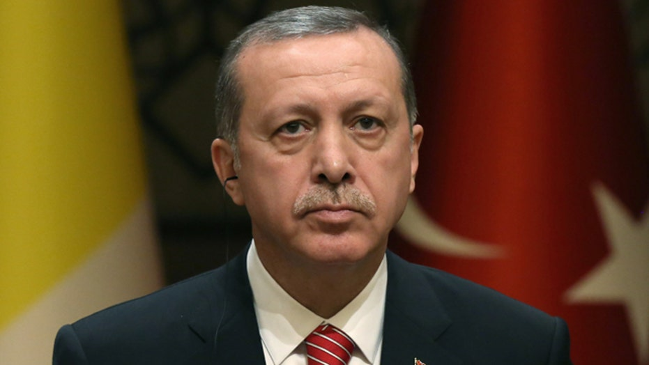 Turkish president blasts Western countries, criticism