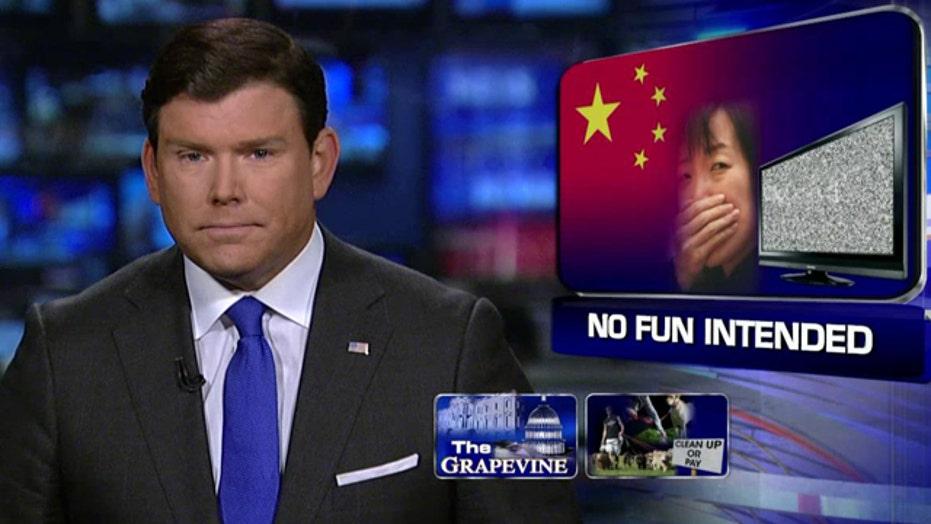 Grapevine: China's TV and media watchdog banning puns