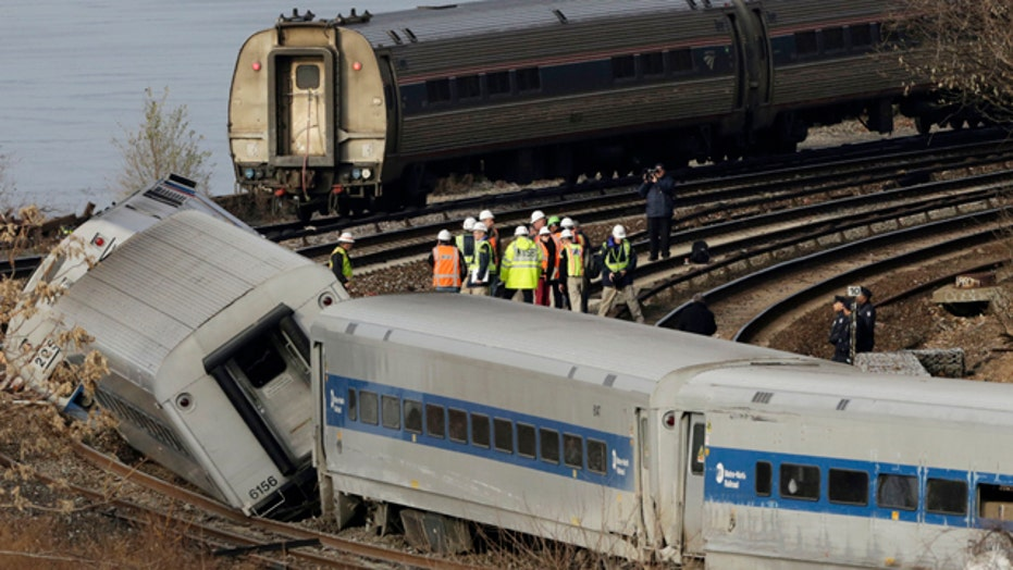 NTSB recovers data recorder from NYC train derailment