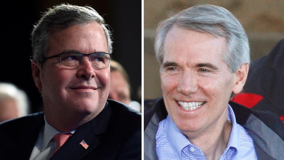 Jeb Bush nears 2016 decision; Sen. Portman rules out running