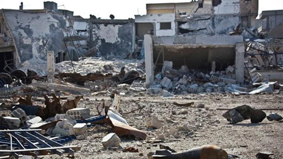 Iranian jet seen attacking ISIS target in Iraqi territory