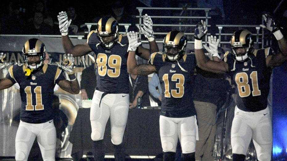No discipline for players' 'hands up, don't shoot' gesture