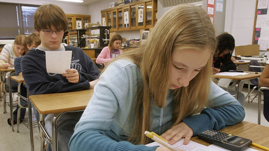US high school students lag in international education tests