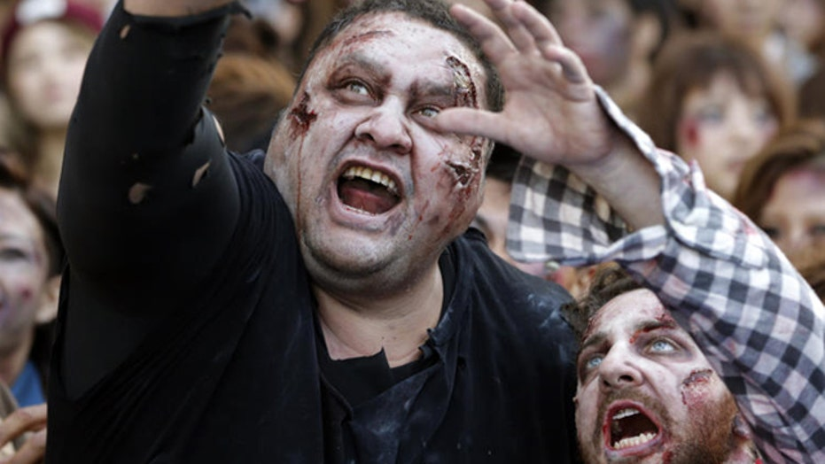 Watch out for zombie bandits, warns LAPD PSA