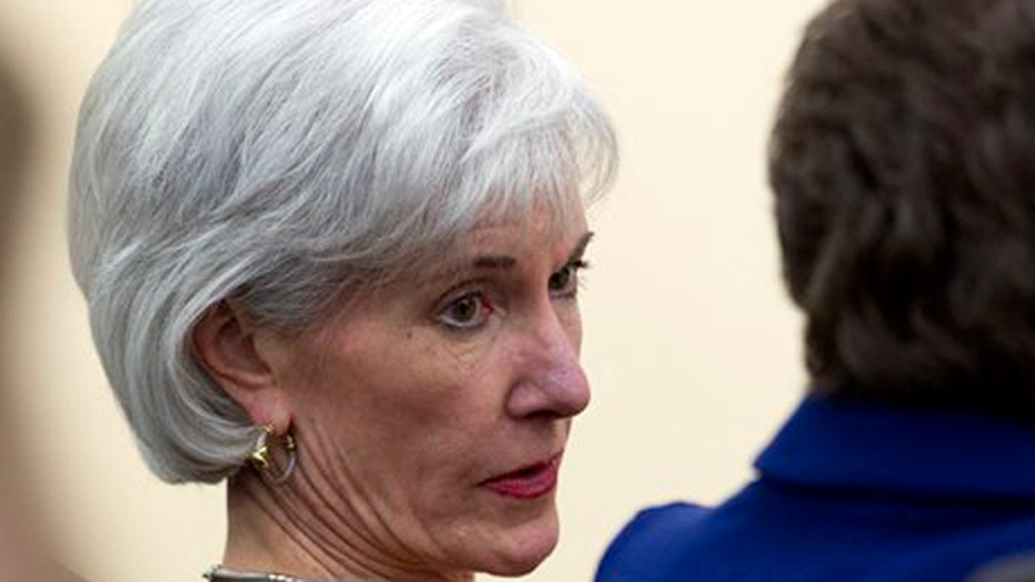 Is Obama really meeting with Sebelius over health care?