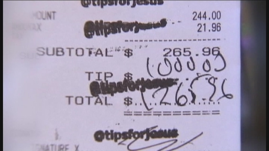 Mystery Tipper Leaves Thousands Of Dollars Around The Country