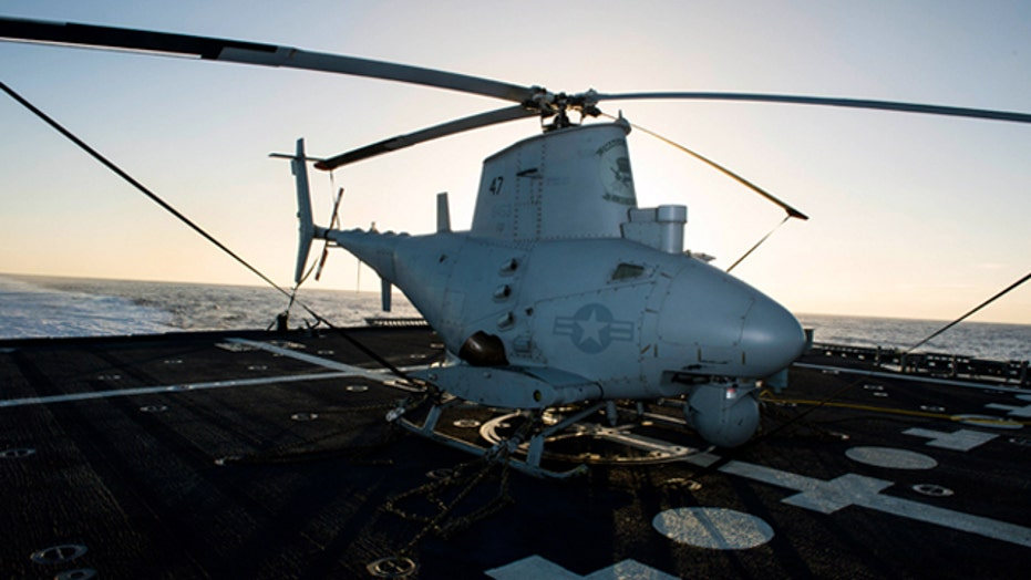 War Games: Advanced Fire Scout helicopter drone Navy bound