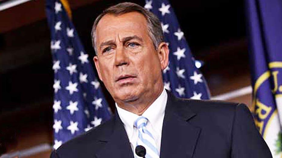 Will conservatives rebel against Speaker Boehner?
