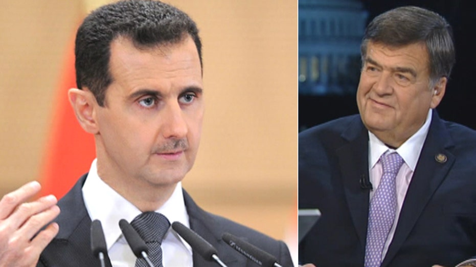 Chemical weapon fears in Syria
