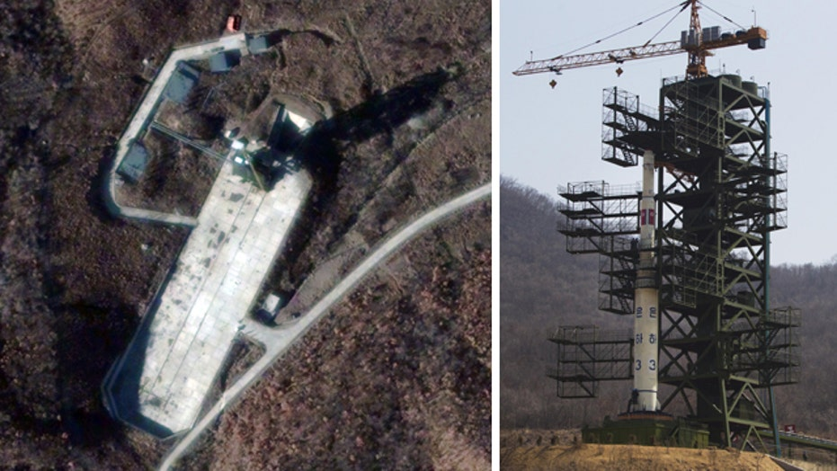North Korea days away from launching long-range rocket?