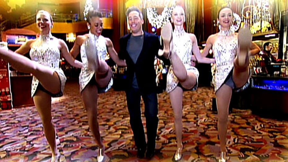 Backstage with the Rockettes