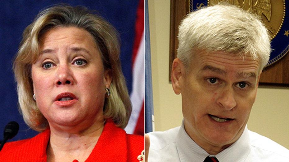 Louisiana Senate race: Landrieu vs. Cassidy