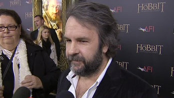 On the red carpet with 'Hobbit' stars