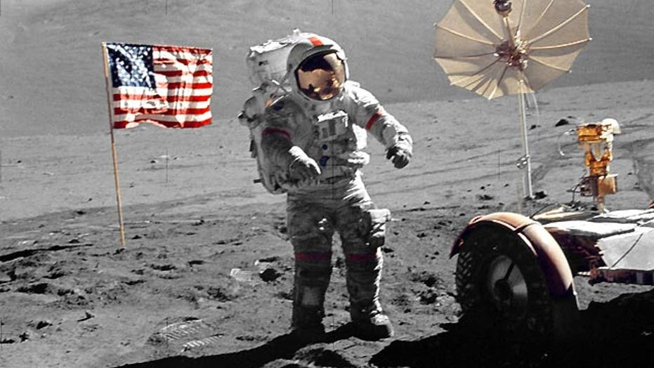 Looking back at last moon landing