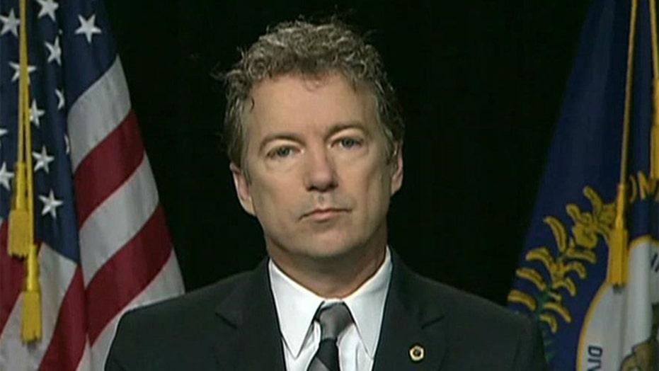 Sen. Rand Paul on scrapping ObamaCare, saving Detroit