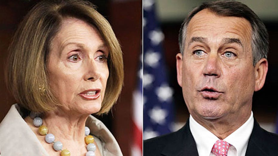 Will Pelosi play ball with Boehner on spending deal?