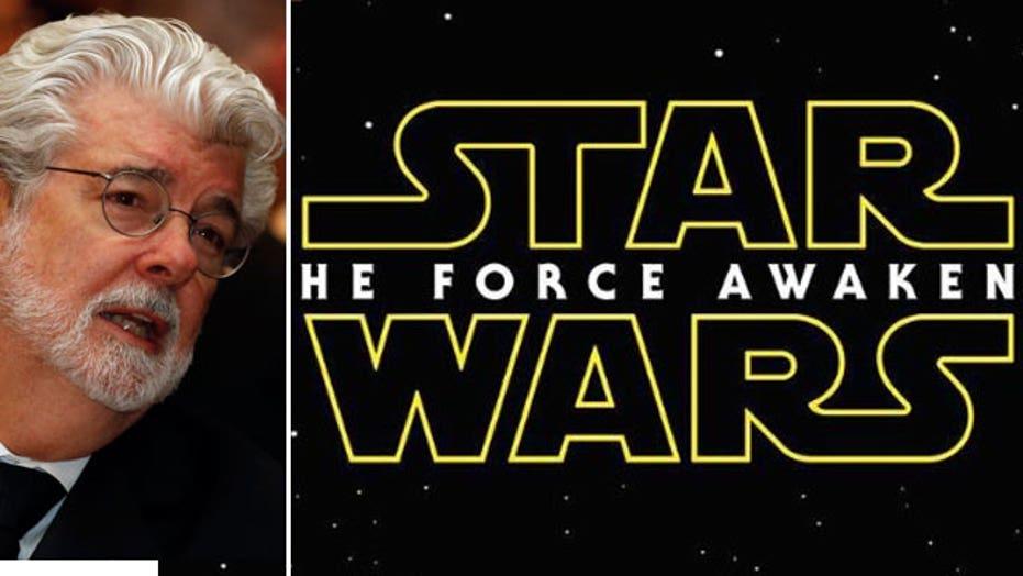 Lucas hasn't seen 'Star Wars' promo