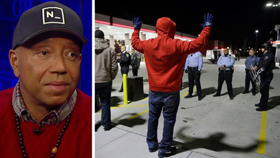 Russell Simmons on racial tensions in the US