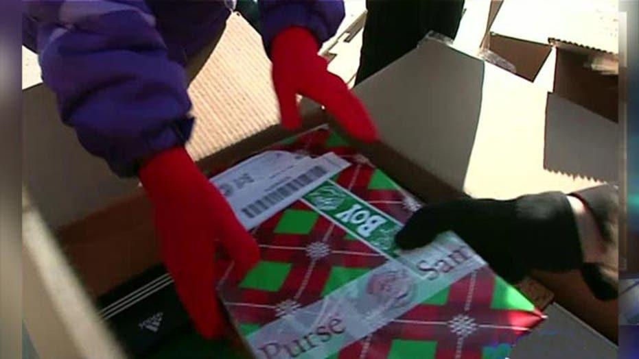 Greta: Shoeboxes full of gifts for refugee children