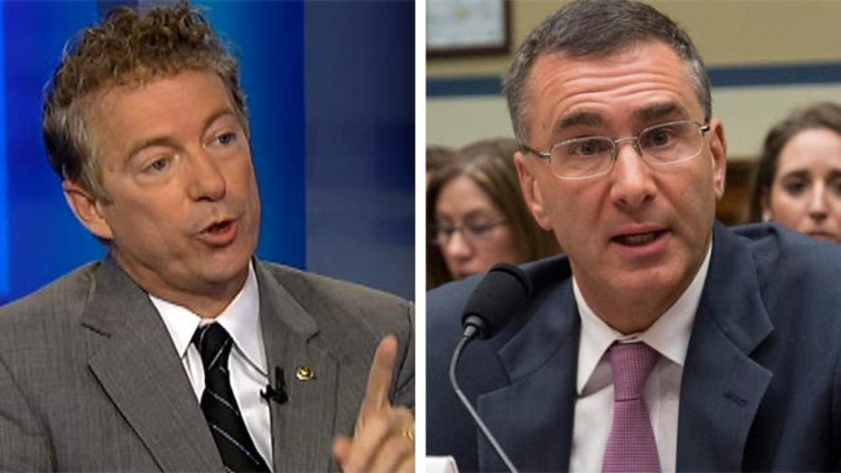 Rand Paul: Gruber should return money to taxpayers