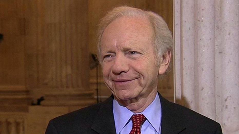 Sen. Lieberman: We can't let the country go over the cliff