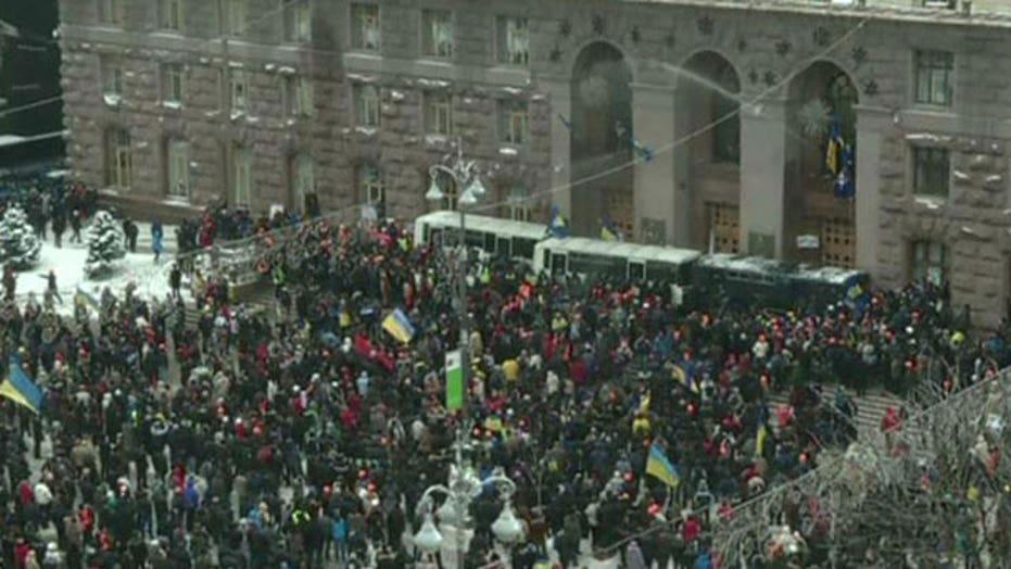 International impact of unrest in Ukraine
